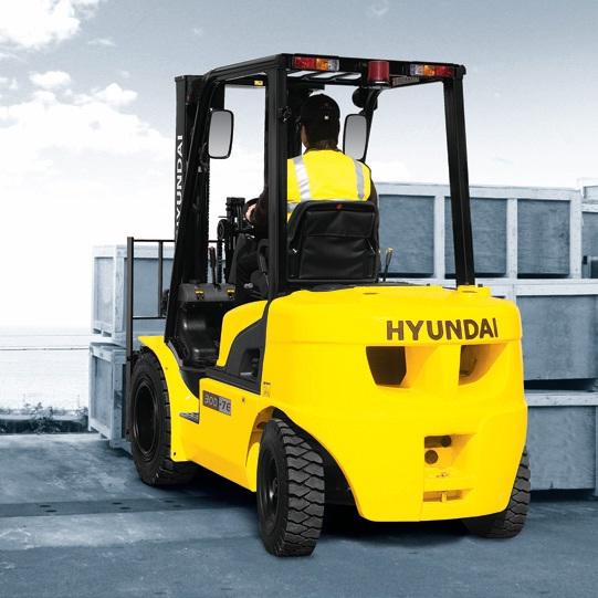 Дизельный погрузчик Hyundai 33D-7E